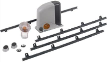 Mhouse - Kit completo para puerta corredera de 400 kg.compatible con panel solar: Amazon.es: Jardín