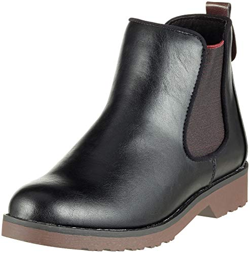 Ant 21 096 comb Chelsea Black Damen MARCO Schwarz 25497 Boots TOZZI 4w8HFq8