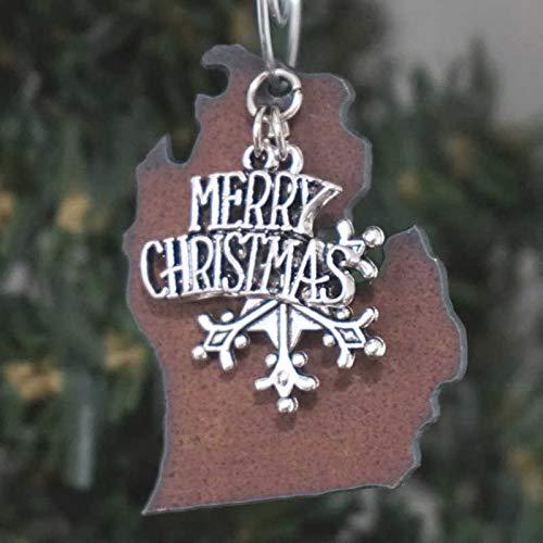 MICHIGAN Christmas Ornament 2