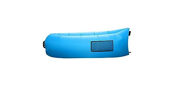 Outad - Sofá tumbona inflable, saco de dormir, colchones de aire de compresión, silla portátil, camas con colchones de aire. Ideal para descansar, acampar, ...