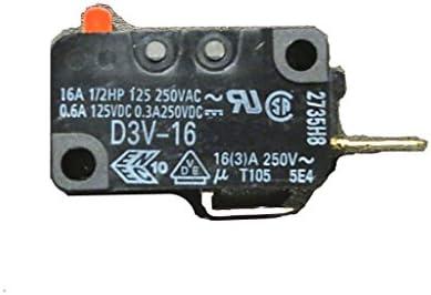 Interruptor de microondas genérico de repuesto para WB24X823 ...