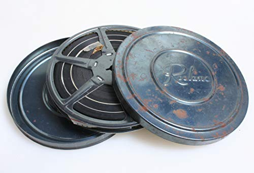 Movie Film Found FOOTAGE 200FT REEL 8MM and with CAN (Reel 200)