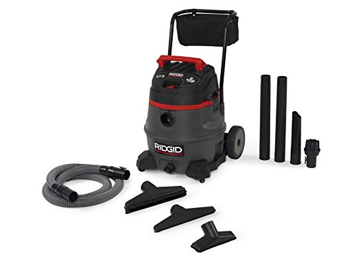 Ridgid 50358 RV2400A 2-Stage Wet/Dry Vacuum, 14 gal, Red