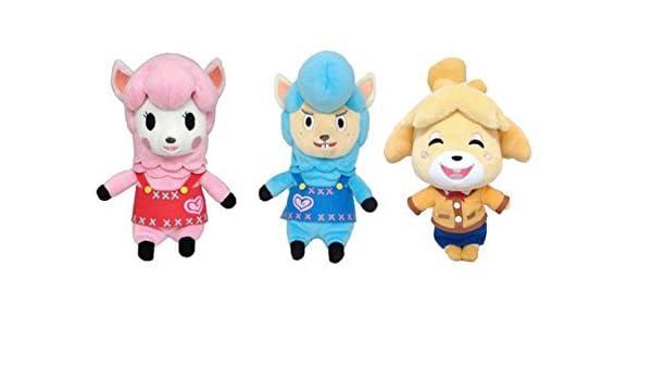 "Sanei Animal Crossing New Leaf Lisa//Reese 9/"" Plush"