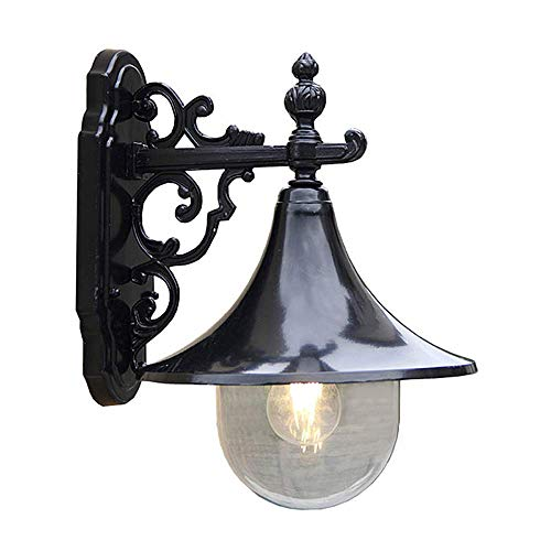 (Mpotow Waterproof Wall Lamp Fashion Creative Loudspeaker Outdoor Large Speaker E27 Exterior IP44 Rainproof Wall Lights Garden Porch Front Door Stair Courtyard Outside Garden Wall Mounted Lantern Decor )