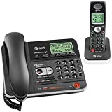 Best DSS Answering Machines - AT&T TL74108 5.8 DSS Corded/Cordless Answering System (Black) Review