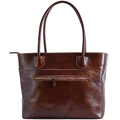 Floto Napoli Leather Women's Shoulder Bag Handbag Purse
