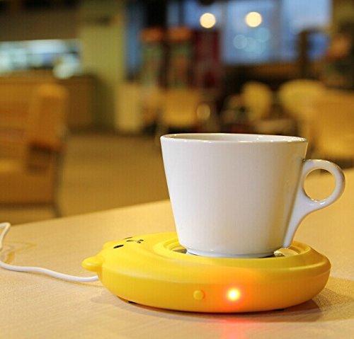 [해외]전자 - 새 곰 휴대용 USB 전자 따뜻한 커피 밀크 티 컵 난방 패드 플레이트/E-Bro New Bear Portable USB Electronic Warmer Coffee Milk Tea Cup Heating Pad Plate