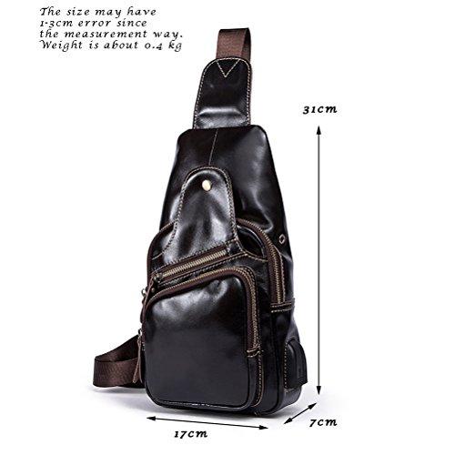 port coffre avec Shoulder Sac Sac Luxury PU de cuir durable Large en de Messenger Zhuhaitf USB chargement q0gOnUwq