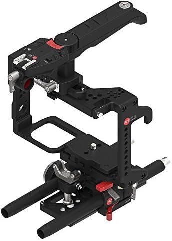 [スポンサー プロダクト]JTZ DP30 カメラケージベースプレート ショルダーハンドルリグキット Panasonic GH3 GH4 GH5用