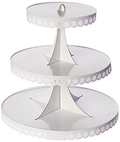 Martha Stewart Crafts Doily Lace Cupcake Stand