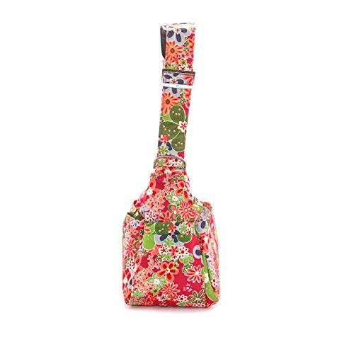 Ju-Ju-Be Sé Hobo - Bolsa para pañales Multicolor (Perky Perennials)