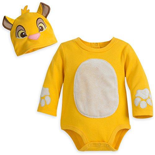 Baby Simba Costume (Disney Store Simba Costume Baby Bodysuit and Hat (9-12))