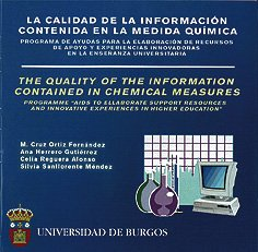 Descargar Libro La Calidad De La Información Contenida En La Medida Química Mª Cruz Ortiz Fernández