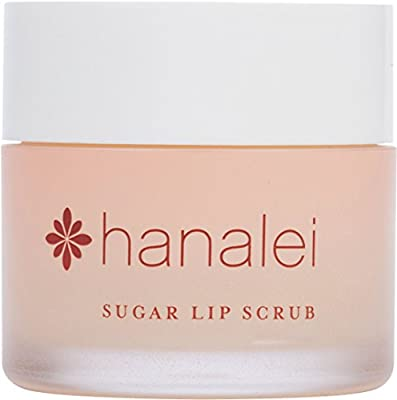 Sugar Lip Scrub by Hanalei Company, Made with Real Maui Sugar and Kukui Oil, 22g (Cruelty free, Paraben free) MADE IN USA
