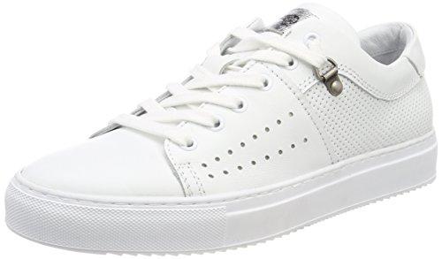 Mjus Herren 360122-0101-0001 Sneaker Weiß (Bianco+bianco+bianco+bianco+argento)