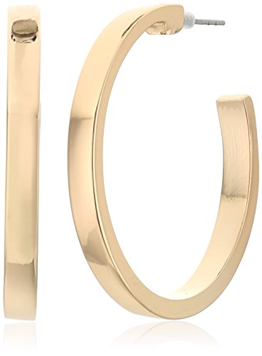 """UPC 748838051428, GUESS """"Basic"""" Gold Small Square Edge Hoop Earrings"""