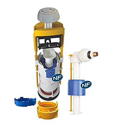REGIPLAST-válvula de flotador y mecanismo de cisterna-Conjunto universal NF-Mecanismo MECAD