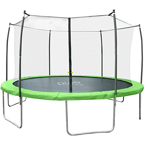 Pure Fun Dura-Bounce 15-Foot Trampoline with Enclosure (Pure Fun 15 Foot Trampoline And Enclosure Set)