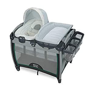 Graco Pack 'n Play Quick Connect Playard with Portable Bouncer, Albie
