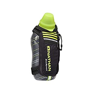 Nathan IceSpeed Insulated Handheld (18 oz), Black/Safety Yellow Black/Safety Yellow