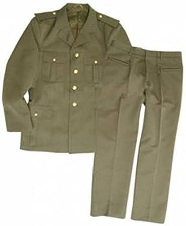 giacca drop corta militare uomo