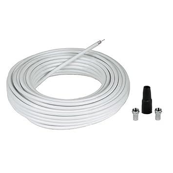 Hama 56607 20m Blanco - Cable coaxial (20 m, Blanco, 5,8