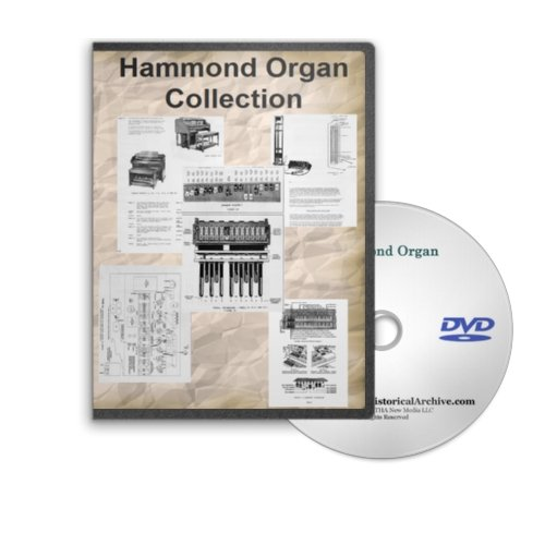 Hammond Organ Service, Repair and Sales Manuals on DVD - Organ Service Repair Manual
