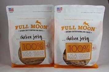 Full Moon Natural Dog Treats Chicken Jerky, 12.5oz. Pack of 2