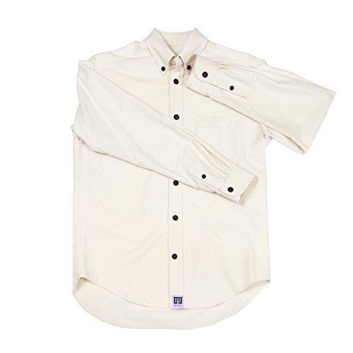 Natural Brushed organic cotton shirt Small