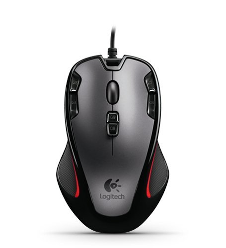 Logitech Gaming Mouse G300 with Nine Programmable Controls (910-002358) (Certified Refurbished)