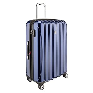 Sleek looking hardside spinner suitcase
