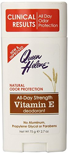 Queen Helene Deodorant Vitamin-E 2.7 Ounce Stick (79ml) (3 Pack) -
