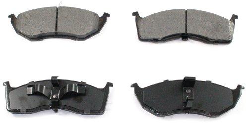 Intrepid Front Brake Pads Rotors (DuraGo BP642 MS Front Semi-Metallic Brake Pad)