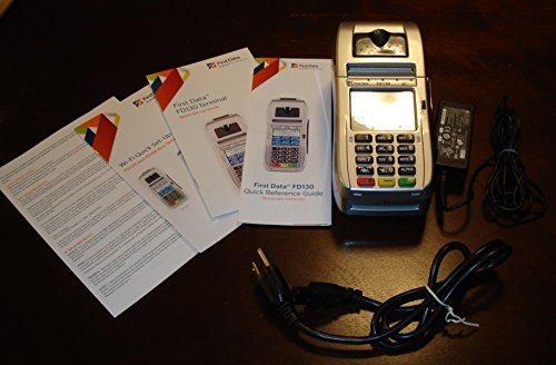 First Data Fd130 with Internal PIN Pad / EMV / -
