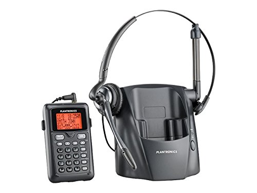 Plantronics 80057-11 CT14 Cordless Headset Phone, Black