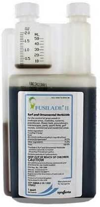 Fusilade Ii Herbicide 1 Qt Turf Ornamental Herbicide Fluazifop-p-butyl 24.5%