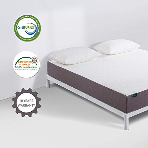 Queen Mattress, Molblly 10 Inch Memory Foam Mattress in a Box, Breathable Bed Mattress with CertiPUR-US Certified Foam for Sleep Supportive & Pressure Relief, 10-Year Warranty, Queen Size