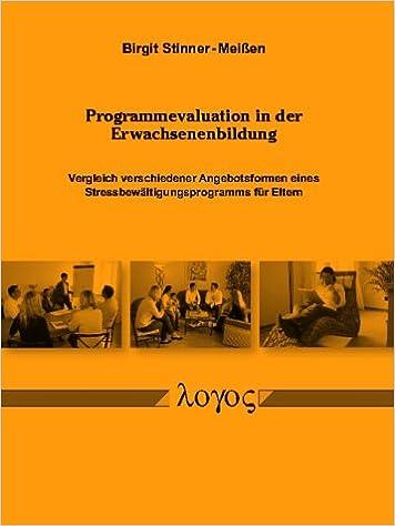 Programmevaluation In Der Erwachsenenbildung Vergleich