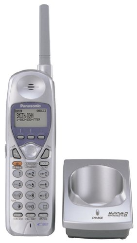 - Remanufactured Panasonic KX-TGA270S 1 or 2-Line 2.4GHz Cordless Handset