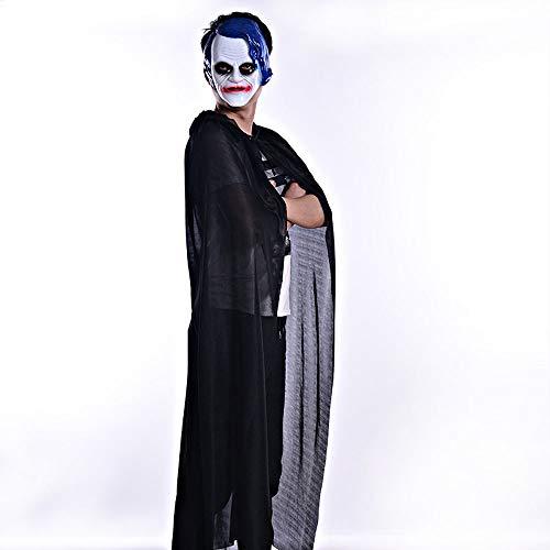 Halloween Costumes Vestiti Donna✿happy Ghost Wicca Robe Bronzing Coat Bcfuda Dolcevita Cloak Nero 547nEACwq