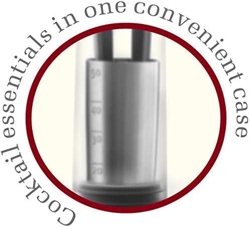 Vacu Vin Cocktail Schichter, Kunststoff, transparent, grau, 11x 7X 9 cm