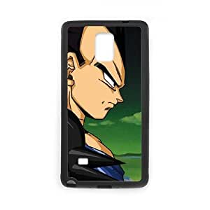Samsung Galaxy Note 4 Cell Phone Case Black Dragon Ball Z Goku & Vegeta SUX_209270