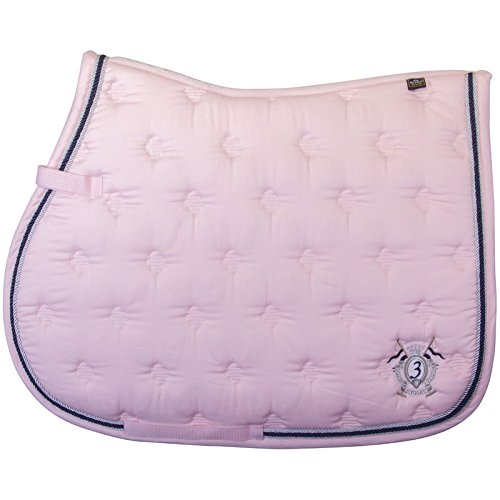 HV Polo Gent Dr Saddle Pad Pink