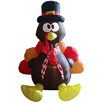 amazon com gemmy airblown inflatable original turkey