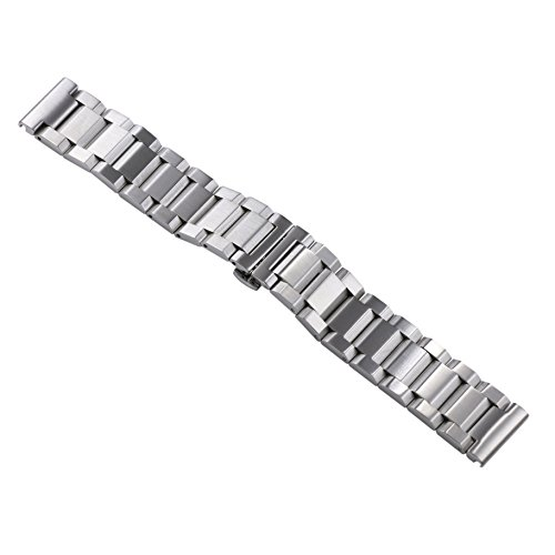 22mm Men's Deluxe Robust Solid Inox Watch Wristbands for Swiss Watches Metal Stainless Steel Straight End -  AUTULET, OT.TY4.22SL.HD