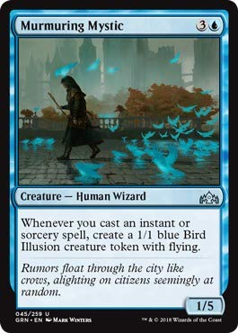 - Magic: the Gathering - Murmuring Mystic (045/259) - Guilds of Ravnica