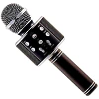 BRIX Bluetooth Karaoke Microphone 3-in-1 Portable Handheld Karaoke Mic Speaker Machine Christmas Birthday Home Party for Android/iPhone/PC or All Smartphone