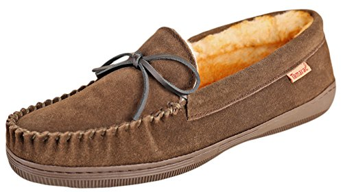 Tamarac by Slippers International 7161 Men's Camper Moccasin,11 2E US,Moss by Tamarac by Slippers International