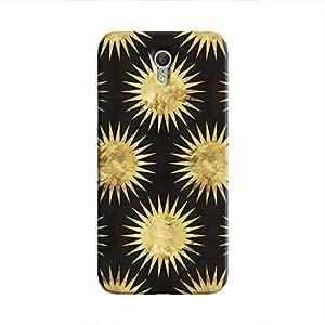 Cover It Up - Gold Black Star Lenovo ZUK Z1 Hard Case